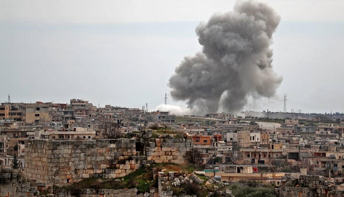 """باريس: وقف إطلاق النار في إدلب يتضمّن """"نقاطاً غامضة"""""""