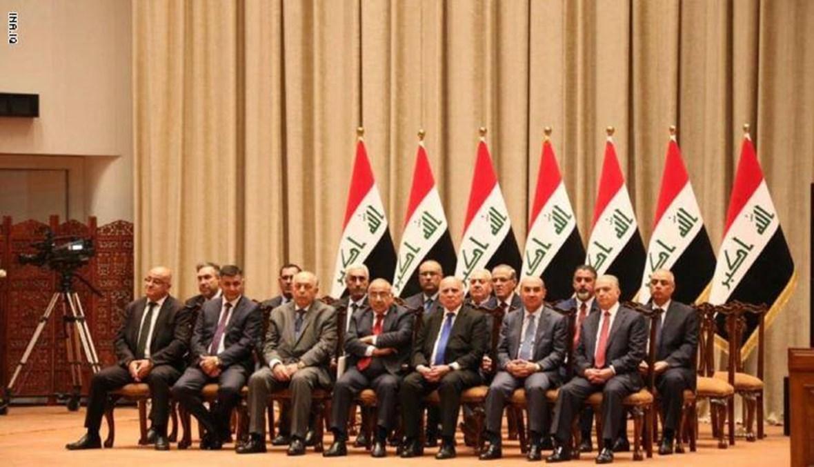 بين حكومة العراق وحكومة لبنان