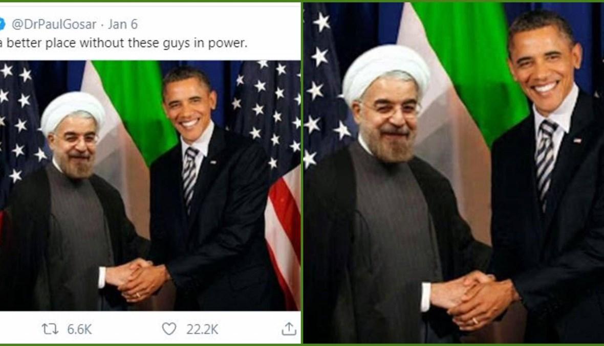 أوباما وروحاني: ما حقيقة هذه الصورة؟ FactCheck#