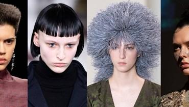 تفاصيل تجميلية طافحة بالغرابة اجتاحت أسبوع الموضة الباريسي (صور)