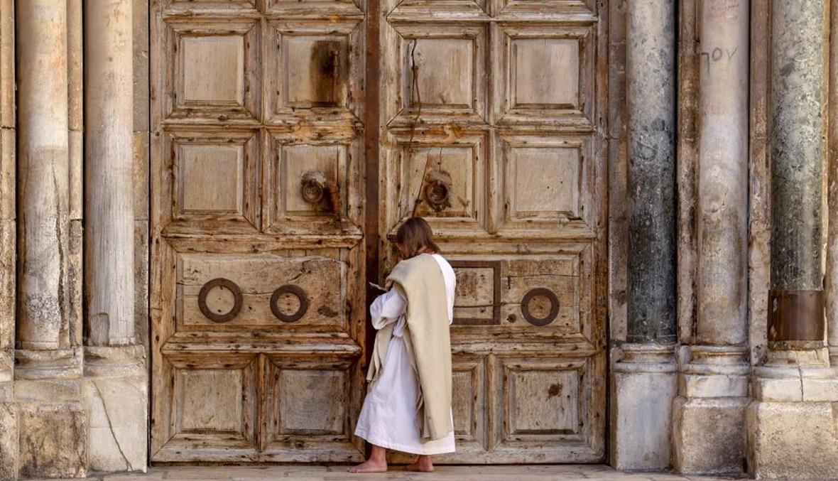 """للمرة الأولى منذ نحو مئة عام... كنيسة القيامة مغلقة في عيدها و""""شعور يفطر القلب"""""""