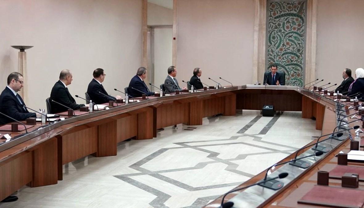 """الأسد يحذّر من """"كارثة حقيقيّة"""" في سوريا إذا تفشّى كورونا"""