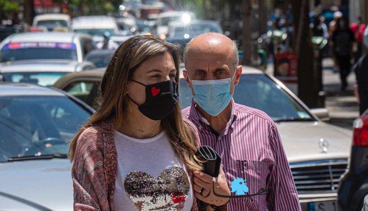 الكمّامة أو الغرامة... كيف بدا المشهد في بيروت؟ (صور)