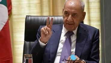 برّي استقبل غاريلا غودو واللواء إبراهيم وتلقّى برقيات دعم للبنان