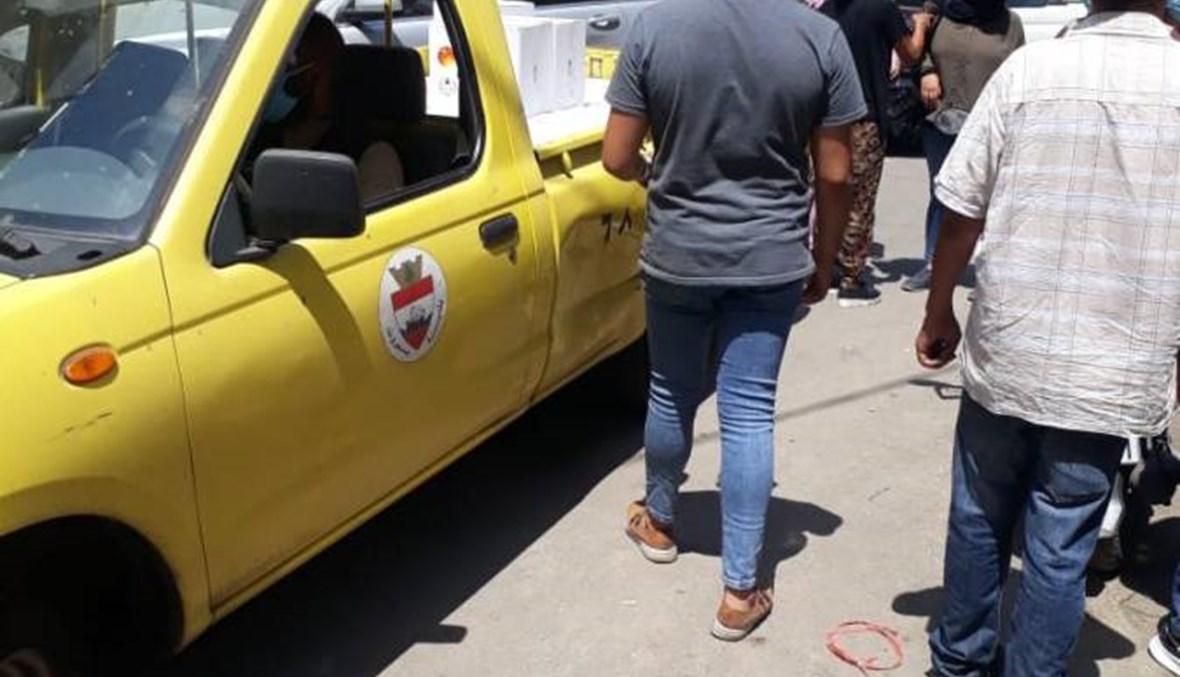 """ما حقيقة الصور الّتي تظهر """"سرقة المساعدات من حرم مطار بيروت""""؟ FactCheck#"""