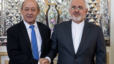 وزيرا خارجية إيران وفرنسا يبحثان الاتفاق النووي والوضع في لبنان