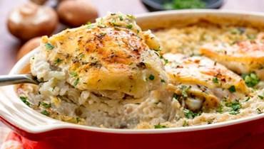 طاجن الدجاج مع الأرز: الأشهى على الإطلاق!