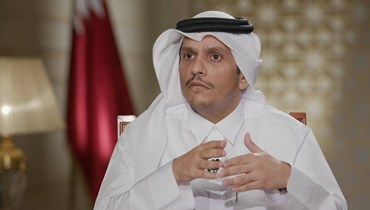 وصول وزير الخارجية القطري إلى بيروت