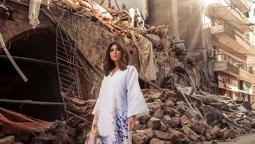 حكاية أمل اختصرها المُصمّم نجا سعادة والإعلامية رابعة الزيات