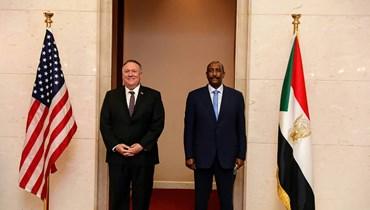"""بومبيو يرحّب بتحول السودان إلى الديموقراطية: """"فرصة لا تكرّر إلا مرّة في الجيل"""""""