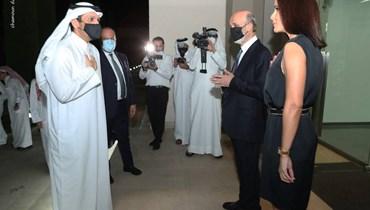 وزير خارجية قطر جدد التأكيد من معراب أهمية أن تقوم الحكومة اللبنانية والدولة بالإصلاحات المطلوبة