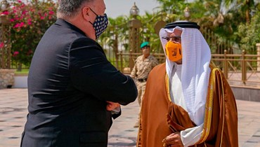 البحرين تؤكّد لبومبيو ضرورة قيام دولة فلسطينية مستقلّة: رفض ضمني للتطبيع القريب