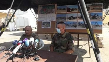 عرض لعمليات الجيشين اللبناني والفرنسي في المرفأ ضمن عملية الصداقة: إزالة 7800 طن من الردميات وفتح جميع الطرقات داخله