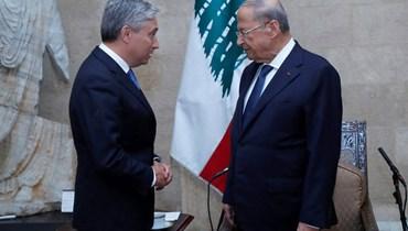 وزير خارجية كندا بعد لقائه عون: سنساعد في إعادة الاعمار