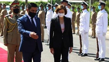 """بارلي في بغداد: فرنسا مستعدّة لـ""""تعزيز قدرات العراق"""" في الحرب ضدّ """"داعش"""""""