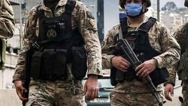 الجيش: تطويق اشكال خلدة وتوقيف أربعة اشخاص بينهم اثنان من الجنسية السورية