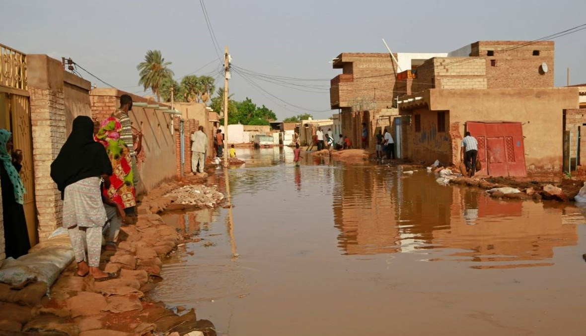 فيضانات قياسيّة في السودان: عشرات القتلى وآلاف المنازل المدمّرة