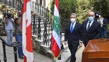 الوزير الكندي: الدعم الدولي يتطلب خطوات اصلاحية جدية