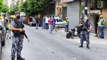 قوى الأمن مستمرة بإجراءاتها في الأماكن المتضرّرة... توقيف 111 شخصاً بعمليات سرقة