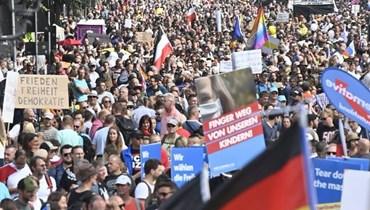 أكبر تظاهرة في برلين... احتجاجات أوروبية ضدّ تدابير احتواء كورونا