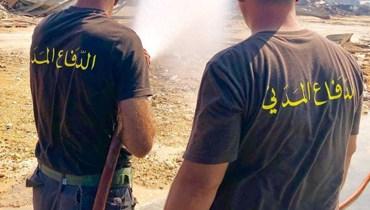 بعد 29 يوماً على الانفجار... الدفاع المدني يتابع عمليات البحث والإنقاذ بالتنسيق مع الجيش (صور)