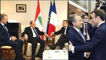صورتان لماكرون وباسيل خلال اجتماعهما في بيروت؟ إليكم الحقيقة FactCheck#