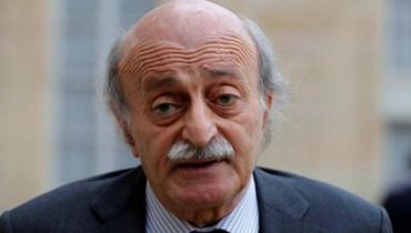 جنبلاط: المبادرة الفرنسية فريدة لإنقاذ ما تبقى من لبنان الكبير... فلينسى بومبيو الصواريخ الآن