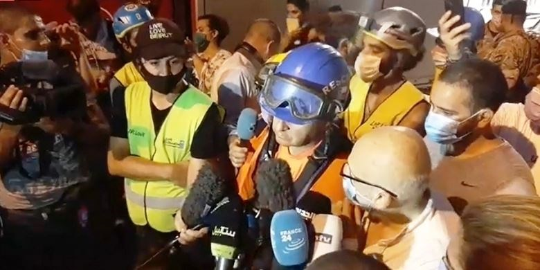 رئيس فريق الإنقاذ التشيلي من مار مخايل