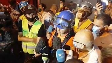 رئيس فريق الإنقاذ التشيلي من مار مخايل: لا دلائل عما إذا كان هذا الشخص على قيد الحياة أم لا