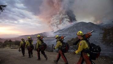 غابات تحترق في شمال كاليفورنيا: إجلاء عشرات المحاصرين بواسطة مروحيات