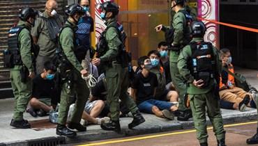 هونغ كونغ: الشرطة تعتقل المئات خلال تظاهرات ضدّ تأجيل الانتخابات المحليّة