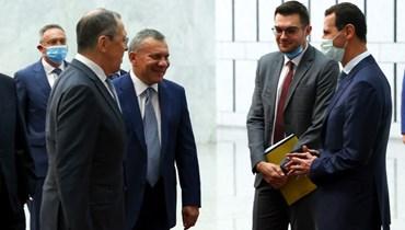 """الأسد يؤكّد الحرص على """"تعزيز الاتفاقات الاقتصادية"""" مع موسكو"""