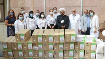 مبادرة دعم من رجل الأعمال الإماراتي خلف الحبتور دعماً للقطاع الصحي اللبناني