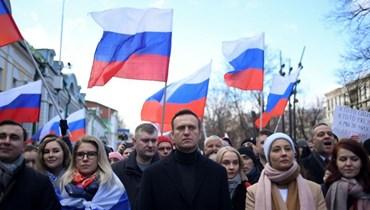 """مشهد يذكّر بقضية نافالني... استهداف معارضين روس بـ""""مادة كيميائية"""""""