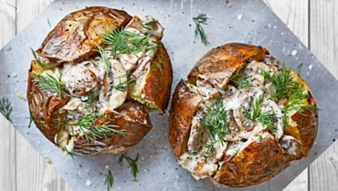 طريقة عصريّة لتحضير البطاطا مع الفطر: طبق مميّز على المائدة!