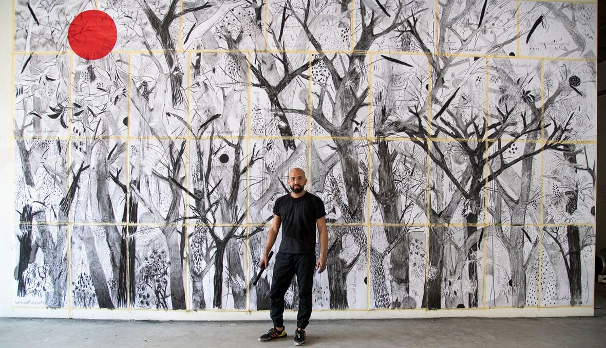 أشجار بيروت عزفت لحن الإجرام والجدران المُتداعية تستضيفها مجدداً