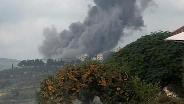 Blast rocks Hezbollah arms depot in southern Lebanon amid Israeli overflights