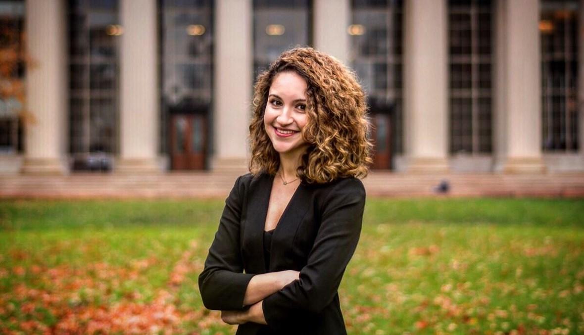 Photo of Maya Nasr at MIT, originally for MIT Global Startup Workshop (GSW) program.