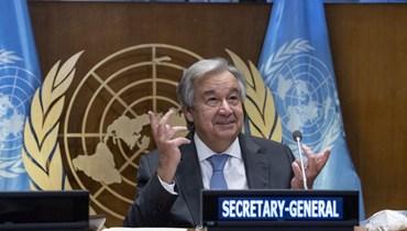 """9 نساء فقط ألقين كلمات في الأمم المتحدة... غوتيريش: المساواة بين الجنسين """"أكبر"""" تحدٍّ أمام حقوق الإنسان"""
