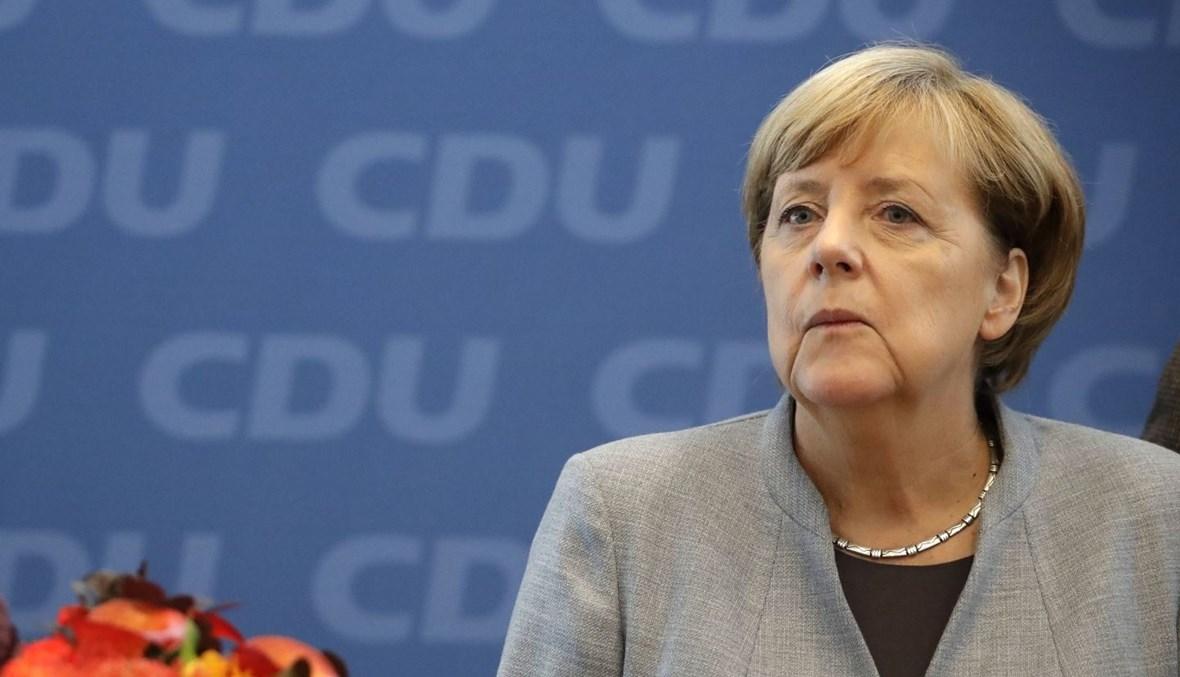 """المستشارة الألمانية أنجيلا ميركل. يرى البعض ضرورة تأدية ألمانيا دور الموحّد لمختلف الاتجاهات في أوروبا حول هذا السيناريو - """"أب ب"""""""