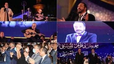 """في الليلة الثانية من """"الموسيقى العربية""""... مزيج من الطرب وإبداع علي الحجار"""