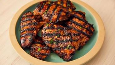 صدور الدجاج المشوية: الأشهى مع زيت الزيتون