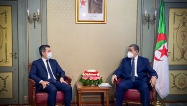 """دارمانان يجري محادثات في الجزائر: """"تعاونها مستمرّ في مكافحة الإرهاب"""""""