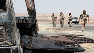 7 قتلى في تحطم مروحية للقوة المتعددة الجنسية في سيناء