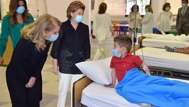 مؤسسة الوليد للانسانية تدعم صندوق مركز الرعاية الدائمة لمرضى التلاسيميا والسكري