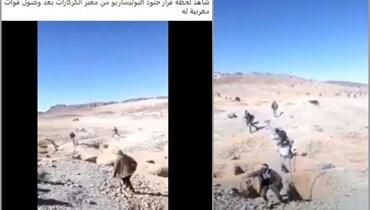 """فيديو لـ""""لحظة هروب جنود البوليساريو من الكركرات""""؟ إليكم الحقيقة FactCheck#"""
