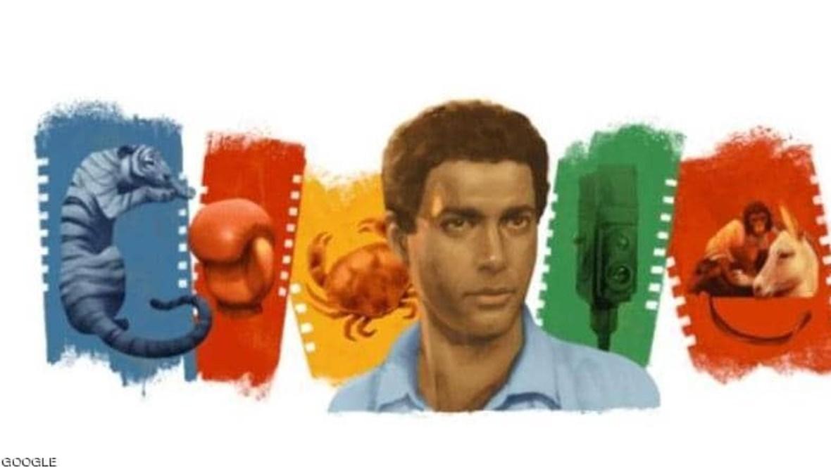 """""""غوغل"""" يحتفل بميلاد أحمد زكي."""