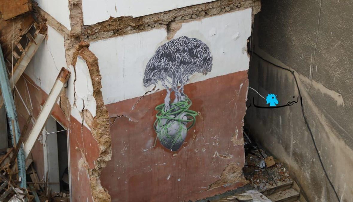 """""""قلب لبنان"""" (تعبيرية- """"النهار"""")."""