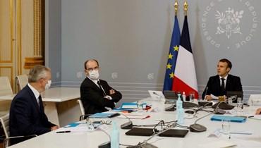 """ماكرون يحيي """"شجاعة"""" الرئيس الجزائري: """"سأفعل ما بوسعي لمساعدته في هذه المرحلة الانتقاليّة"""""""