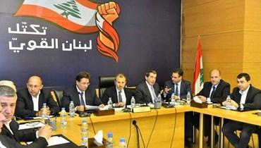 """""""لبنان القوي"""": من غير المسموح استخدام الوضع الاقتصادي المتأزم ذريعة للإخلال بالتوازنات"""